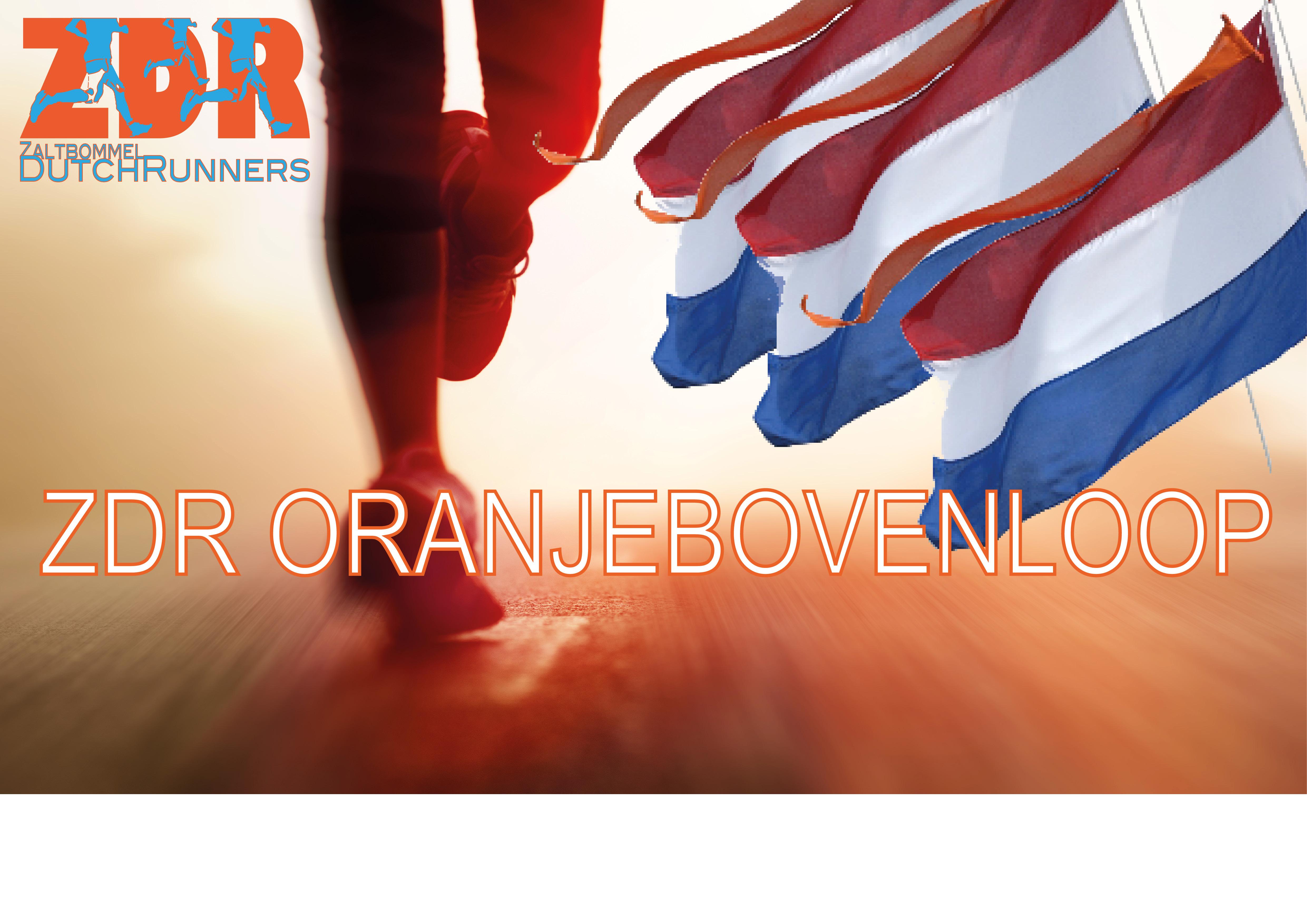 hardlopen op koningsdag in Zaltbommel
