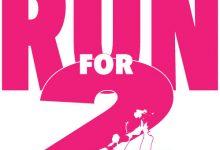 logo Run for 2 _ontwerp Karen de Bondt